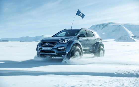 hyundai, санта, фэ, arctic, trucks, cars,
