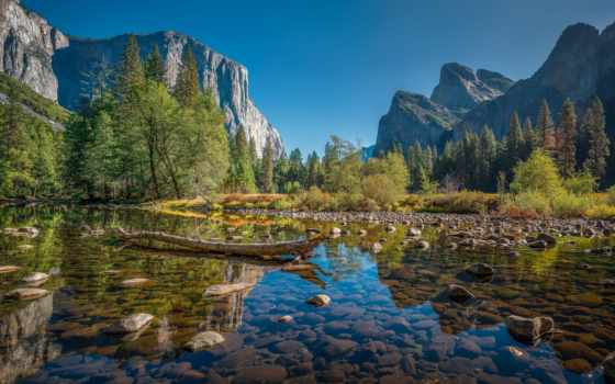 yosemite, park, national, посещение, places, best, california,