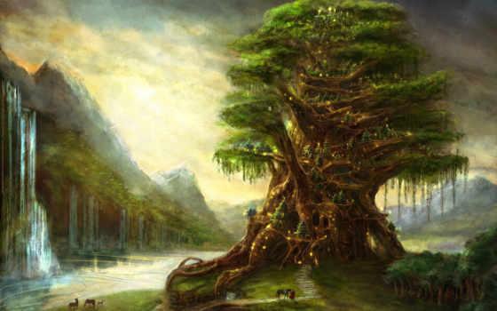 fantasy, tree