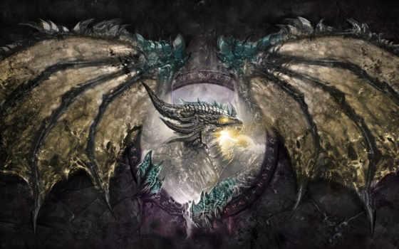 world, warcraft, deathwing