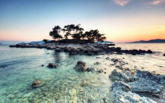 hdr, остров, small