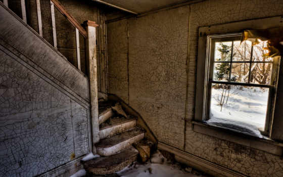 house, лестница, снег, комната, развалины, broken, окно, staircase, ghostly, ghostlystaircase, iphone, casa,