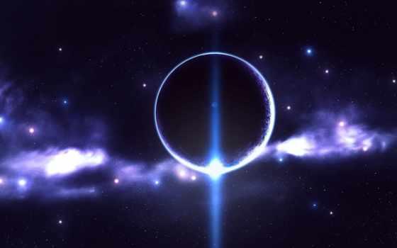 планета, свечение Фон № 24362 разрешение 1680x1050