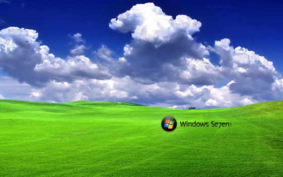 windows, ipad, desktop, ландшафт, win-7, облака, безмятежность,
