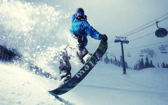 одежда, сноуборде, летает