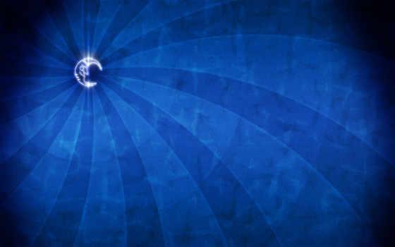 минимализм, blue, луна