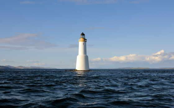 маяк, море, lighthouse, небо, landscape, free, desktop,