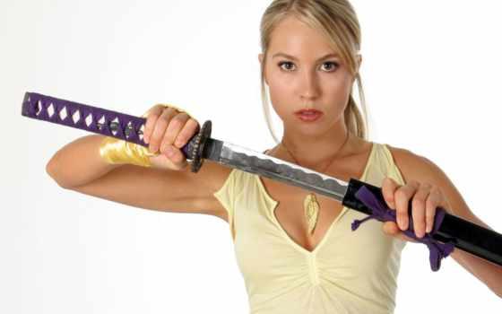 sarah, картер, carter, blonde, катана, самурай, doa, меч, биография,