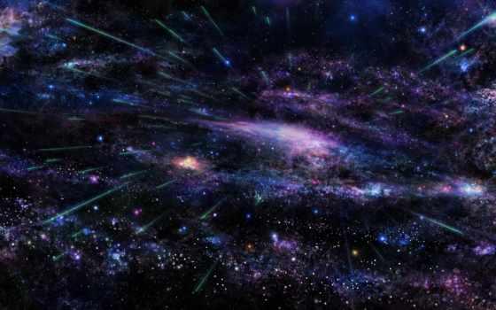 cosmos, звезды, небо, art, Сакура, tsujiki, космоса, дерево, космосе, туманности,