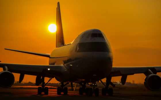 boe, самолёт, wide