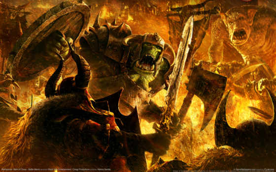 warhammer, монстры