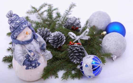 снеговик, декорация