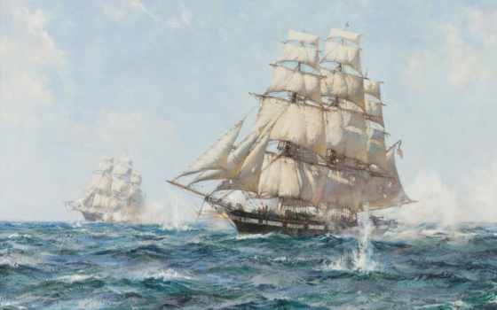 корабль, skimming, dawson