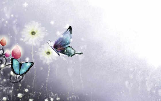 animals, cvety, бабочки, flowers, бабочка, завитки, desktop,