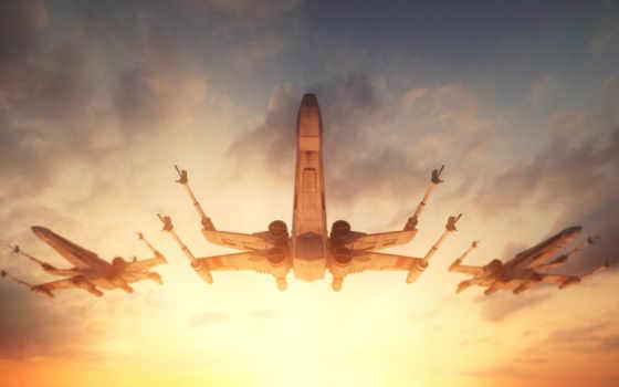 star, крыло, wars, starfighter,