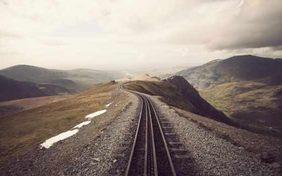 железная дорога в горах