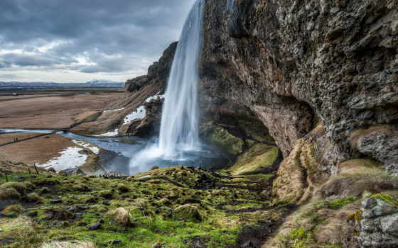 водопад, iceland, this