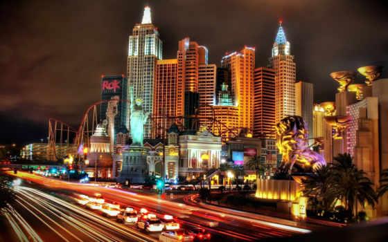 new, las, сша, york, фотообои, vegas, город, казино, эксклюзивные, города,