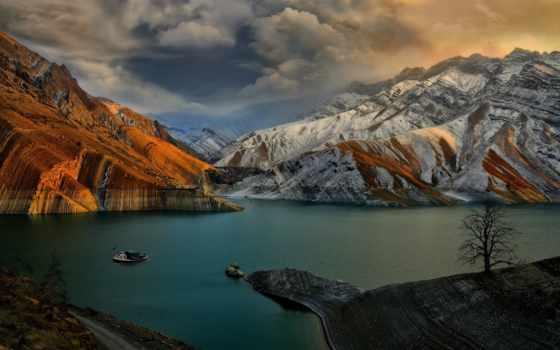 озеро, природы, card, песни, iran, landscapes, коллекциях, коллекции, яndex, castle, ирана,