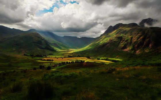 горы, англия Фон № 32443 разрешение 2048x1365