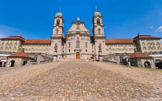 einsiedeln, abbey, швейцария