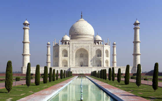 mahal, taj, agra, indian, тадж, india,