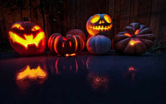 halloween, праздник, тыквы Фон № 155686 разрешение 2560x1600