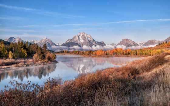 ecran, magnifique, paysage, fonds, природа, lscape, fond, alpine, noël, даешь,