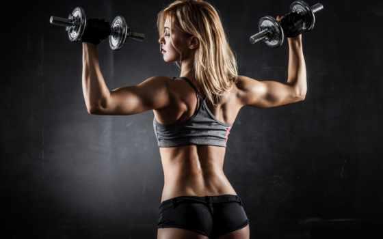 тренировки, силовые, тренировочный, девушек, девушка, упражнения, похудения, фитнес, женщин, собственным, тренировок,