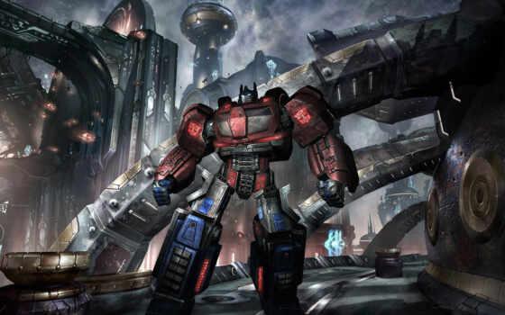 трансформер, war, cybertron, prime, трансформера, optimus, robot, fantastic