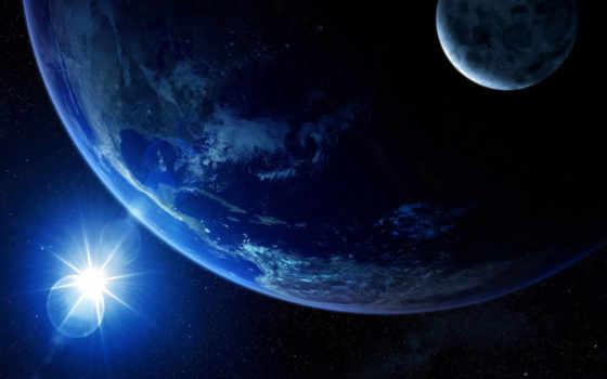 земля, свет