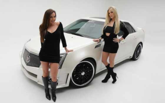 девушки, авто, красивые