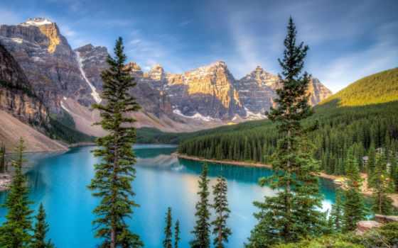 красиво, горы, взгляд