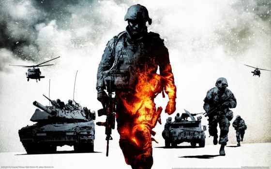 battlefield, game, военные, оружие, игры, плохой, company, war, армия, техника, танки,