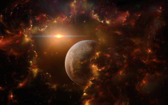 космос, планета Фон № 17477 разрешение 1920x1200