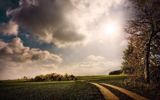 landscape, дорога, desktop, serene, best,