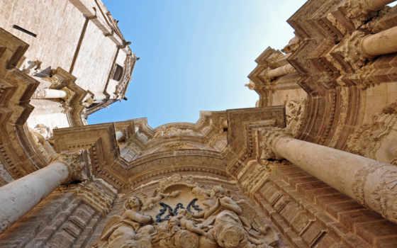 valencia, cathedral, города, iphone, basilica, мэри, город, санта, мария, коллекция,