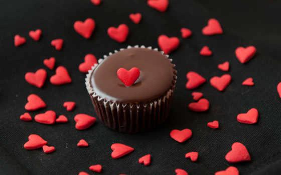 торт, десерт, сердце