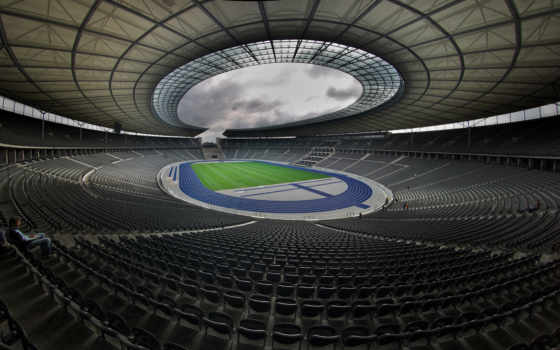 стадион, олимпийский, большой, nsk
