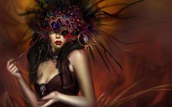 маска, девушка, carnival, нить, fate, женщина, глаза, different, twinkle