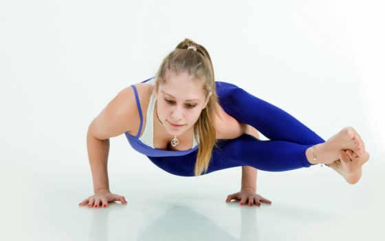 йога, похудения, упражнений