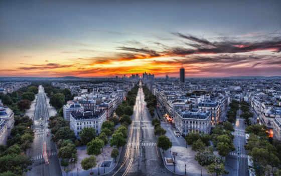 париж, франция, город, french, ipad, зари, утренней, fone, парижа, eiffel,