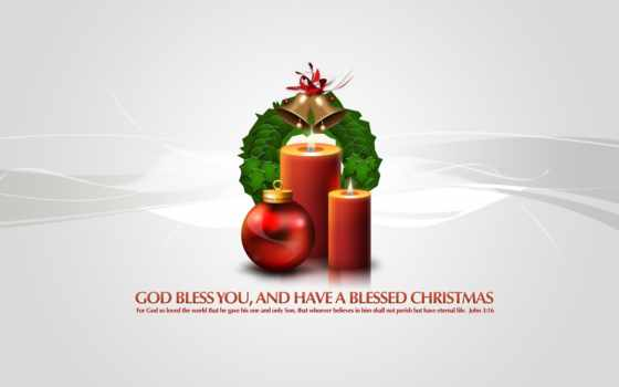 christmas, god, bless