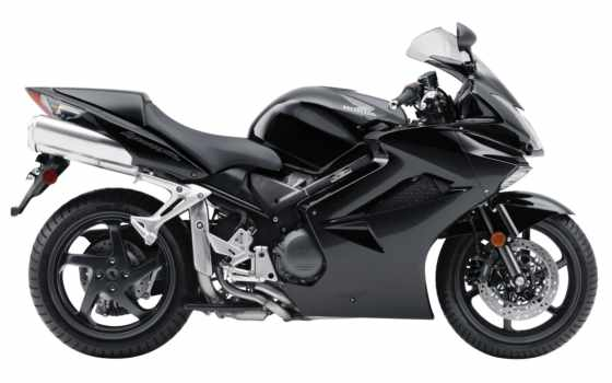 honda, мотоцикл, black