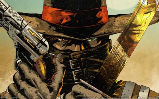 ковбой, игры, western