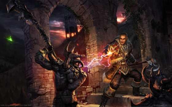 risen, titan, lords, демонов, охотники, world, piranha, игры, bytes, игре,