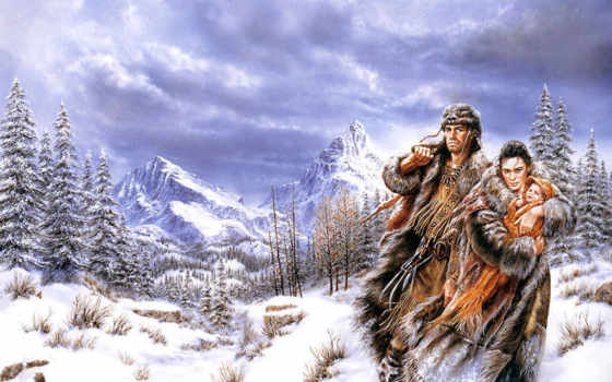 fantasy, winter, fant, такую, хочу,