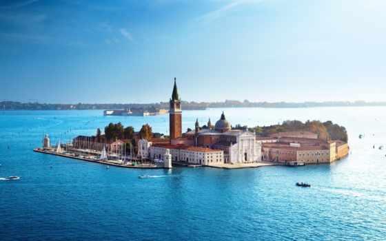 вода, венеция
