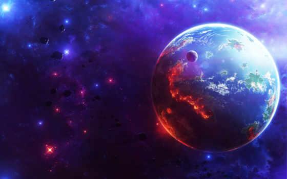 cosmos, planet, звезды Фон № 116508 разрешение 2560x1600