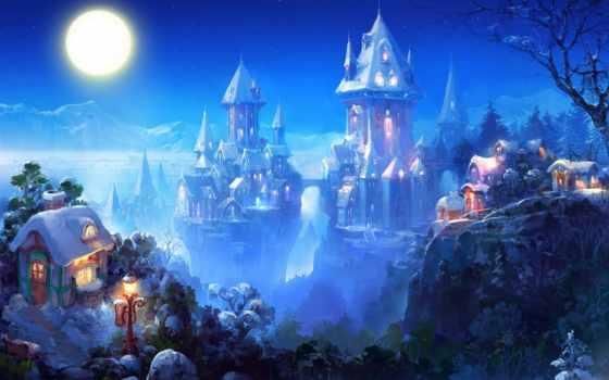 realism, art, магия, fantastic, park, художники, город, живопись,
